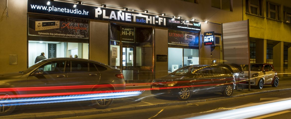 Planet Audio showroom – Kralja Zvonimira 13 – Zagreb CROATIA